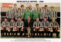Drużyna Newcastle United - 1969 rok